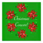 Christmas Wreath Personalized Invitation