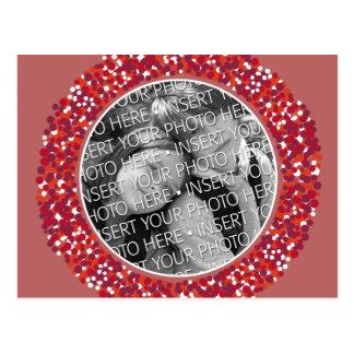 Christmas Wreath Photo Post Card