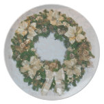 Christmas Wreath Plates