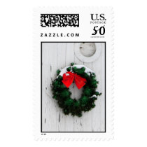 Christmas wreath Postage - Large stamps