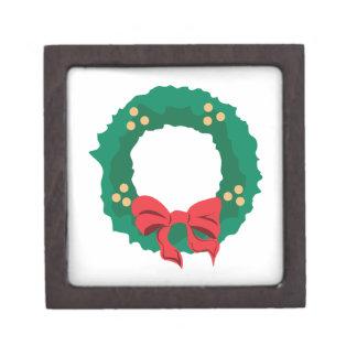 Christmas Wreath Premium Jewelry Boxes