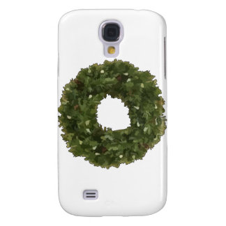 Christmas Wreath Samsung Galaxy S4 Cases