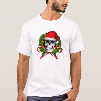 Christmas Wreath Skull T-Shirt