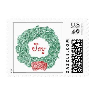 Christmas Wreath Stamp