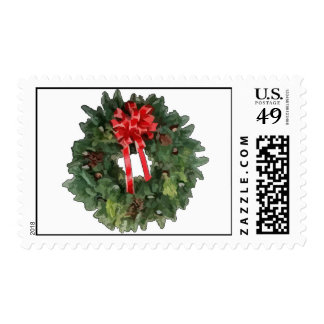 Christmas Wreath Stamps