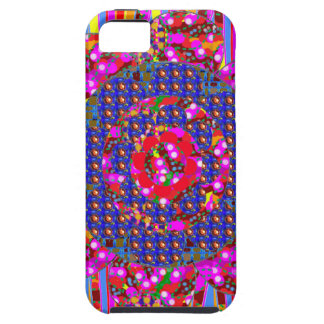 Christmas wreath style colorful graphics iPhone SE/5/5s case