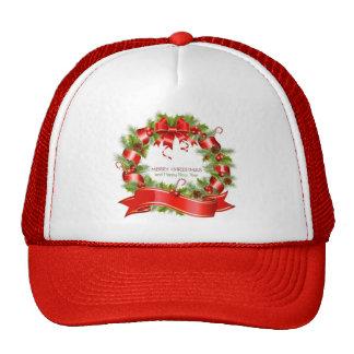 Christmas Wreath Trucker Hat