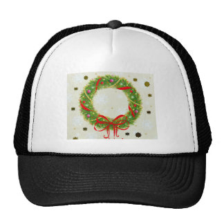 Christmas Wreath Trucker Hat