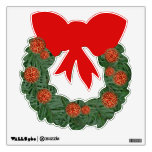 Christmas Wreath Wall Stickers