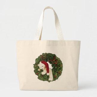 Christmas Wreath with Bear Bags