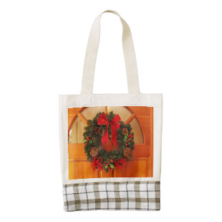 Christmas Wreaths Zazzle HEART Tote Bag