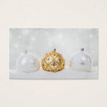 Christmas Themed Christmas Xmas Celebration Business Card