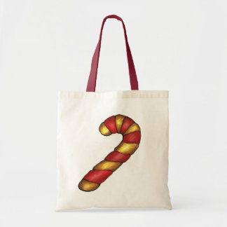Christmas Xmas Peppermint Candy Cane Cookie Tote