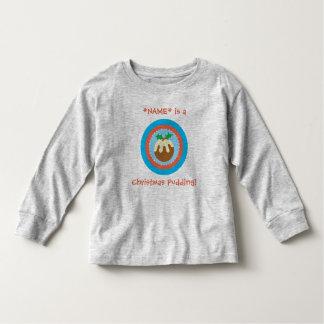 Christmas Xmas Pudding T Shirt