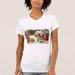 Christmas - Yellow Labrador - Strider T-shirts