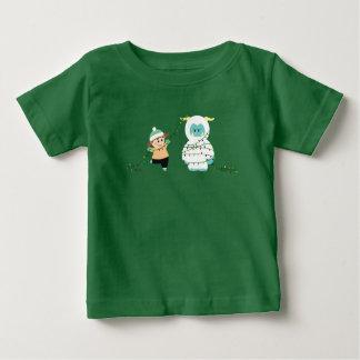 Christmas Yeti Baby T-Shirt