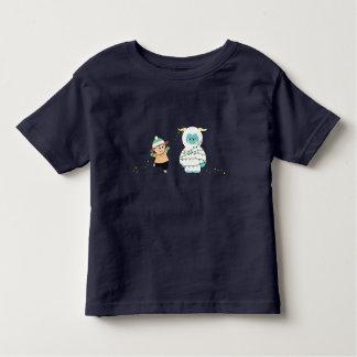 Christmas Yeti Toddler T-shirt