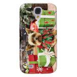 Christmas - Yorkie - Bentley Galaxy S4 Covers