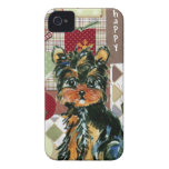 CHRISTMAS YORKIE Case-Mate iPhone 4 CASES