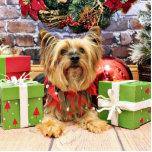 Christmas - Yorkie - Chloe Cut Outs