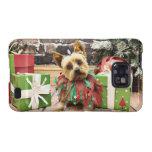 Christmas - Yorkie - Junie Samsung Galaxy SII Cover