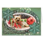 Christmas - Yorkie - Kinsey Cards