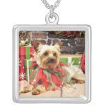 Christmas - Yorkie - Kinsey Necklace