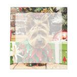 Christmas - Yorkie - Suzy Memo Pad