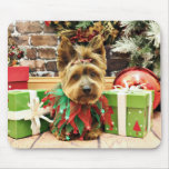 Christmas - Yorkie - Suzy Mouse Pad