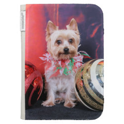 Caseable Kindle Folio with Yorkshire Terrier Phone Cases design