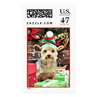 Christmas - Yorkie - Vinnie #32 Postage
