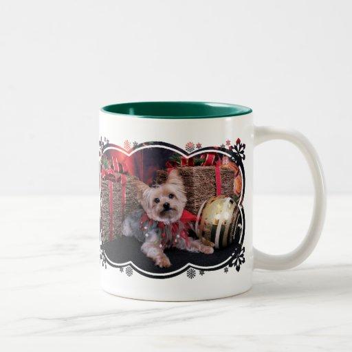 Christmas - Yorkshire Terrier - Vinnie Mugs
