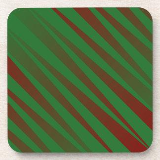 Christmas Zebra Coaster