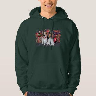 Christmas - Zena & Packer - Shelties Sweatshirt