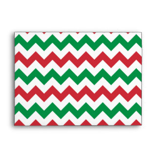Christmas Zigzag Envelope