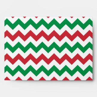 Christmas Zigzag Envelope