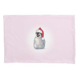 Christmas Zoo Babies Penguin Pillow Case