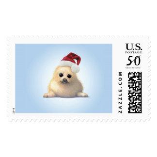 Christmas Zoo Babies Seal Stamp