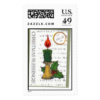 ChristmasATC Postage Stamps