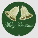 ChristmasBells Stickers (Gold)
