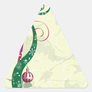 ChristmasDesign Calcomania De Triangulo Personalizadas