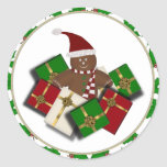 ChristmasGingerbread Man Stickers