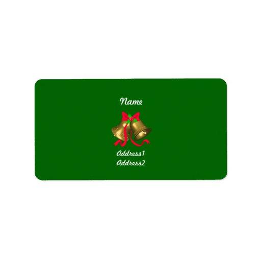 Christmass Bells Label