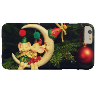 Christmas's mice on the Moon Barely There iPhone 6 Plus Case