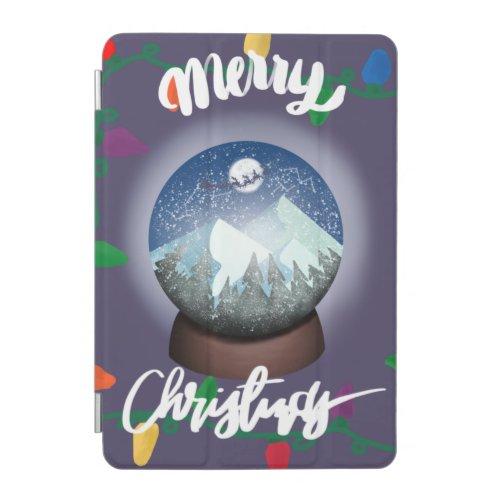 Christmass snow ball iPad mini cover