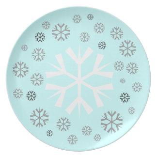 ChristmasSnowflake Plate.