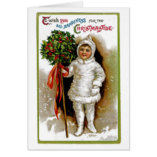 Christmastide Tarjeta De Felicitación