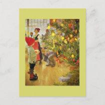 Christmastime Again Holiday Postcard