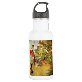 Christmastime Again Stainless Steel Water Bottle