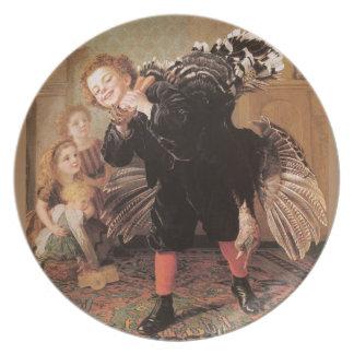 Christmastime, Here's the Gobbler Dinner Plate